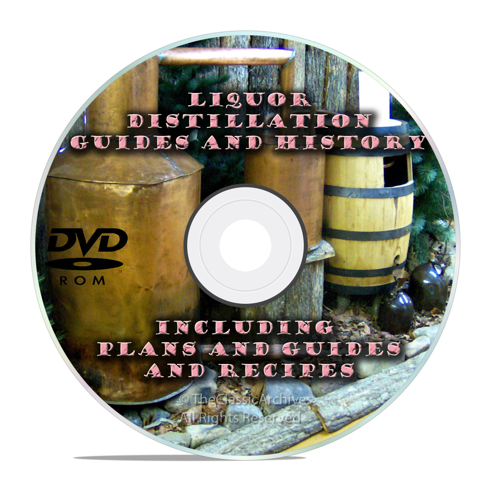 The Complete Distiller, Moonshine Still Plans and Guides on DVD-Snail Mail