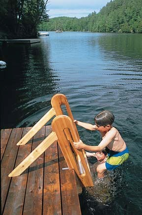 Free Wood Swimming Ladder Plans