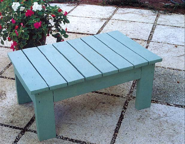 Adirondack Footstool, Outdoor Wood Plans, IMMEDIATE DOWNLOAD