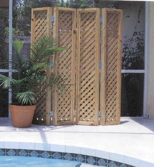 Privacy Screen, Outdoor Wood Plans, IMMEDIATE DOWNLOAD
