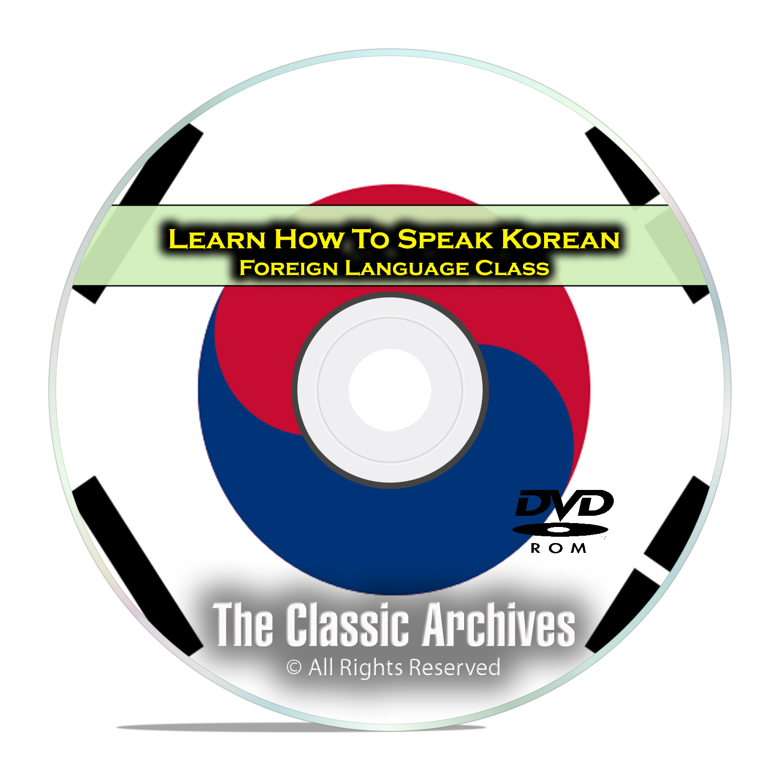 Learn How To Speak Korean, Fast & Easy Foreign Language Training Course DVD