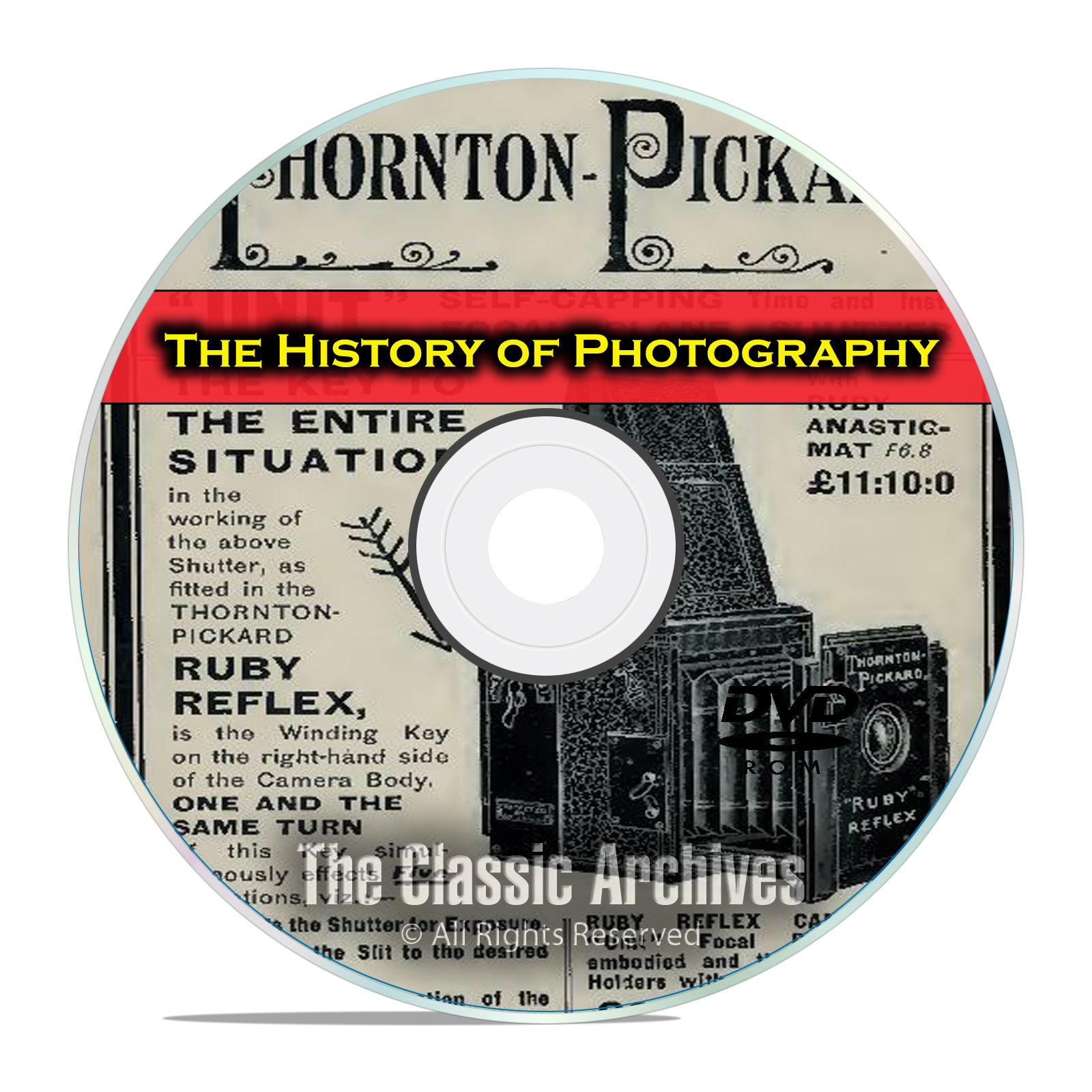 History of Photography, 214 Antique How To Books, Camera Catalogs, PDF DVD