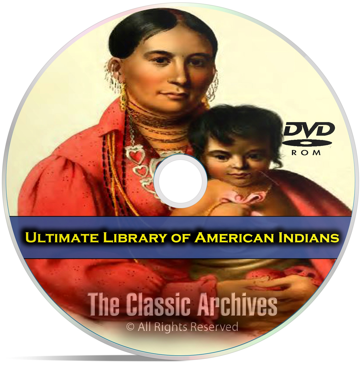 American Indian Library, 413 Books, Cherokee, Aztec, Apache, Maya, PDF DVD