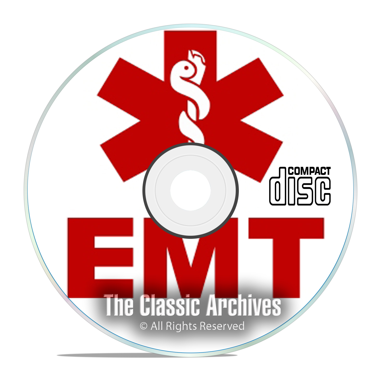 EMT Emergency Medical Paramedic Training Course, Learn to be a Medic CD