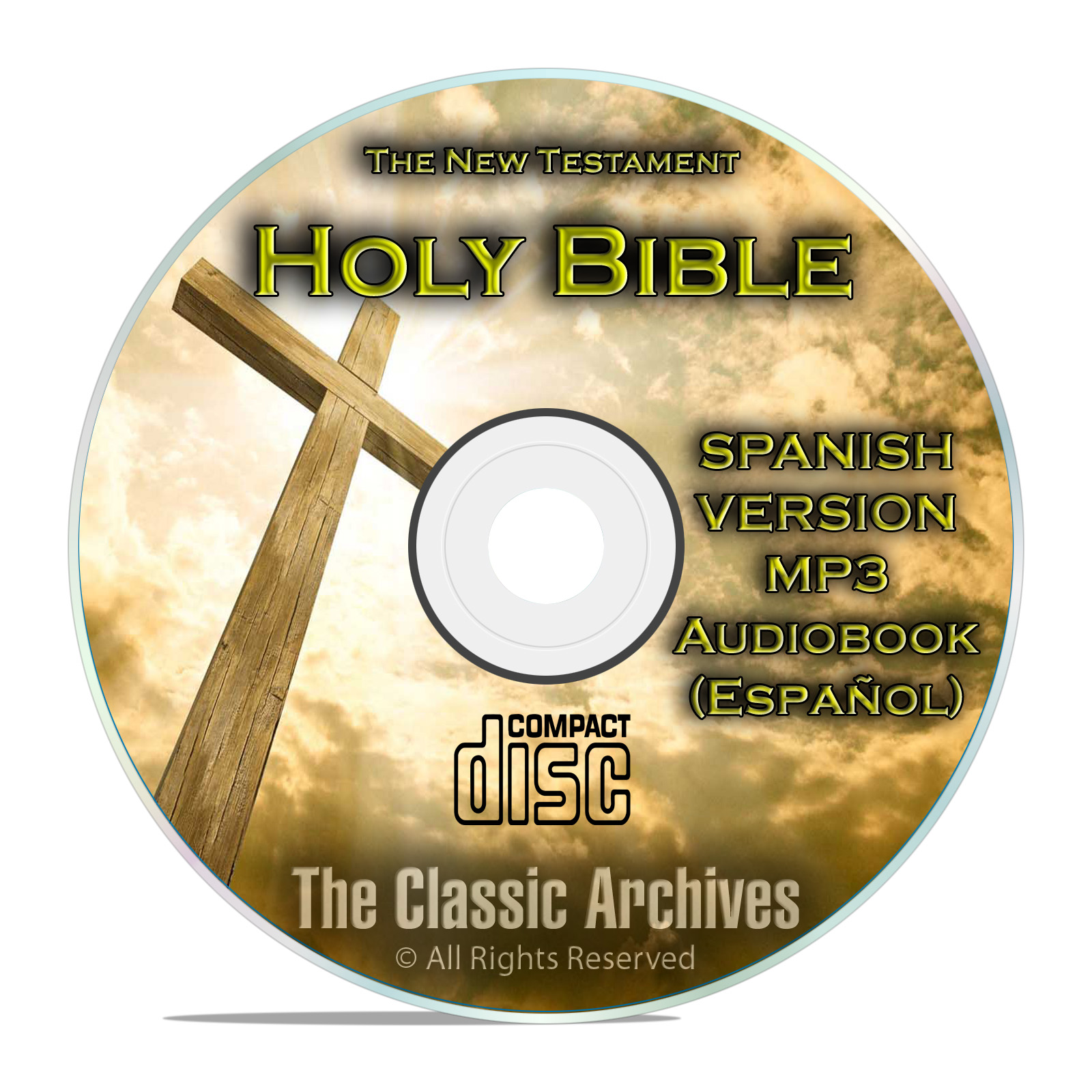 New Testament, Spanish Audio book, Bible Biblia Espanol Libro Jesus MP3 CD