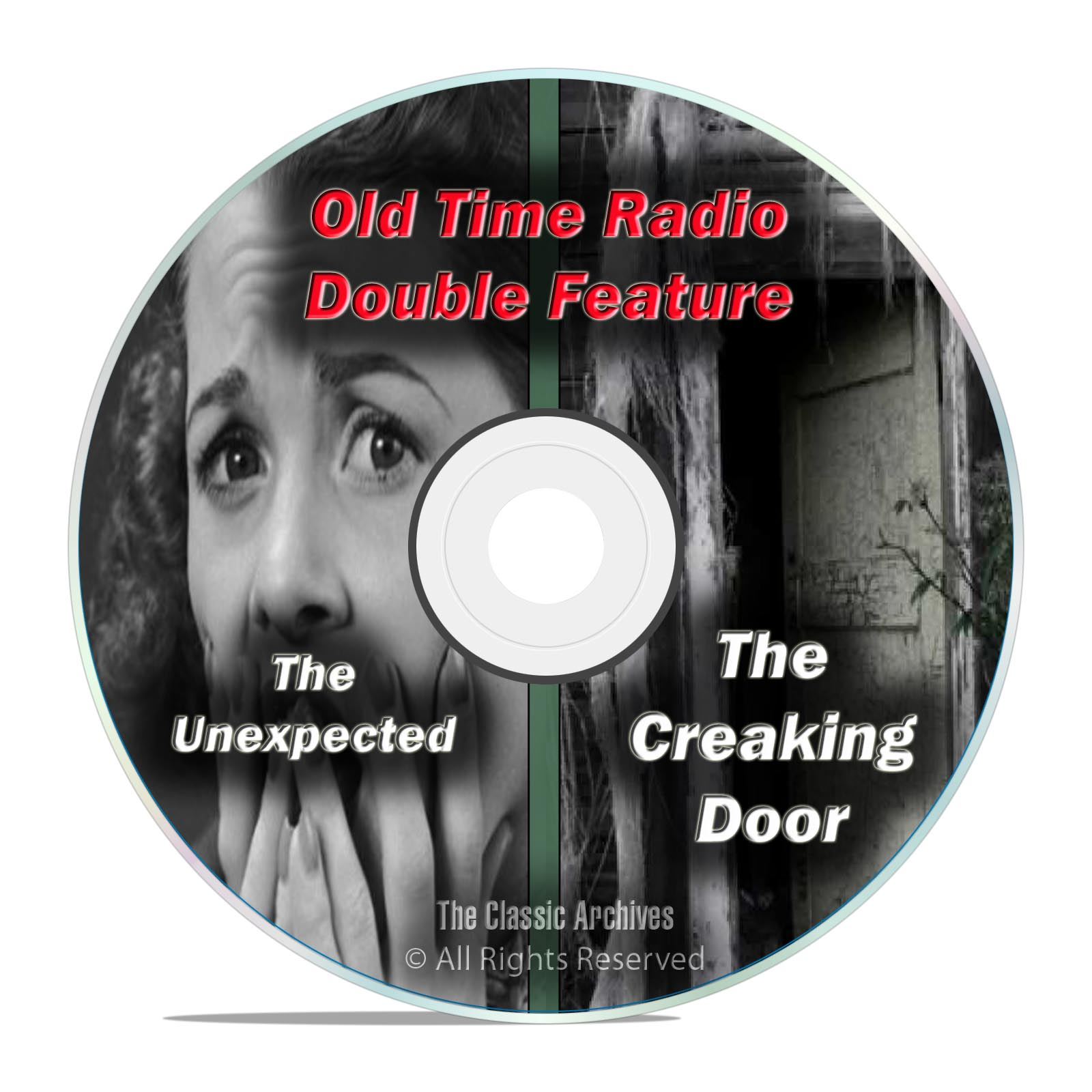 THE CREAKING DOOR & THE UNEXPECTED, 303 shows, FULL SET, Old Time Radio DVD