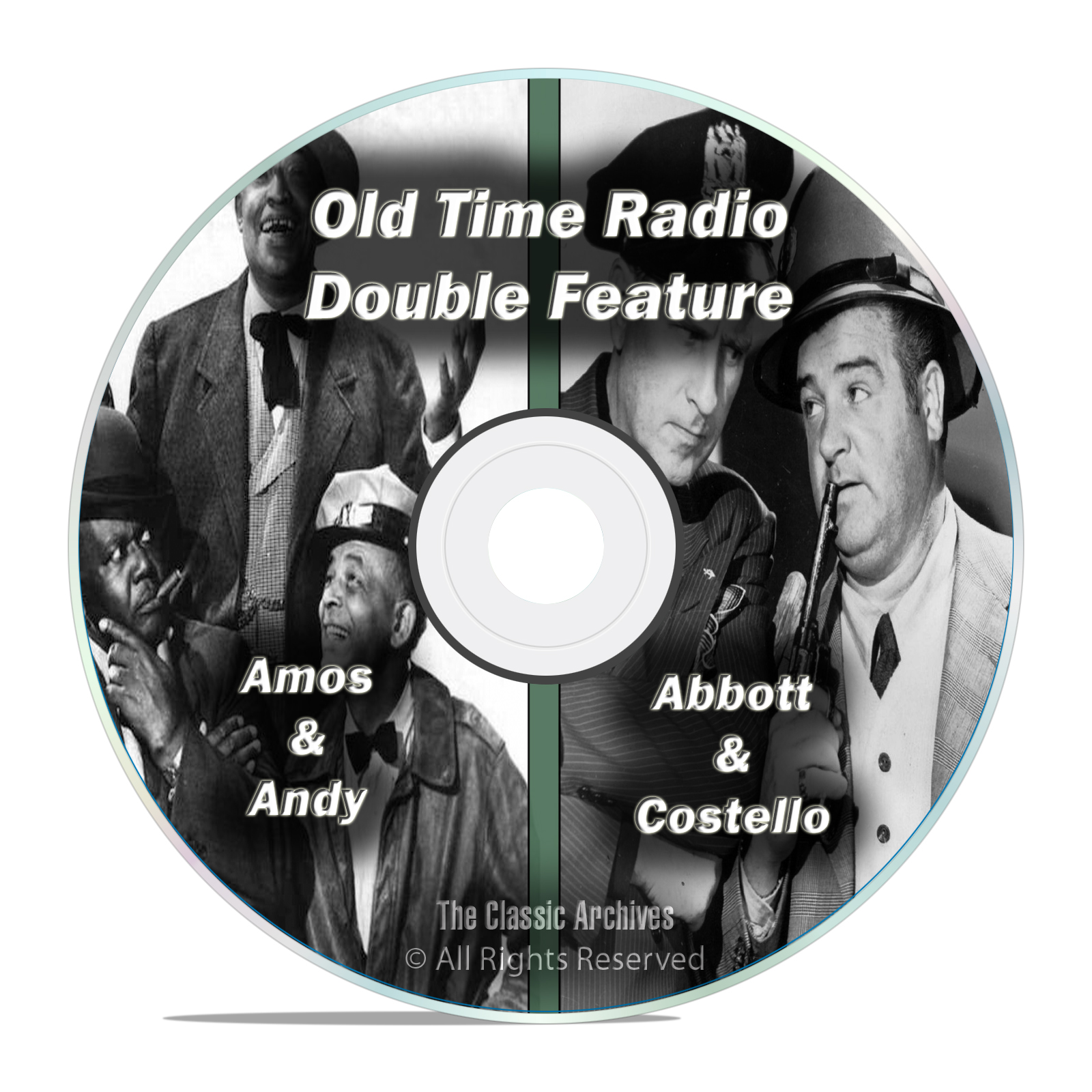 Amos & Andy, Abbott & Costello, 707 FULL RUN COMPLETE SHOWS, OTR MP3 DVD