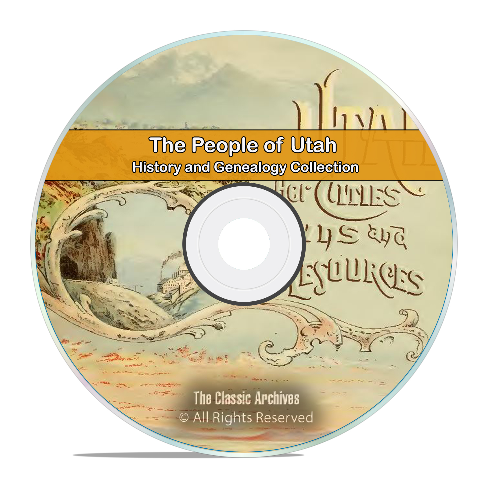 Utah, UT People, Cities and Towns History and Genealogy 258 Books DVD