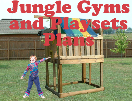 Jungle Gym Plans - DOWNLOAD